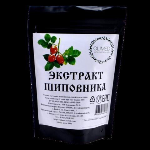Экстракт плодов шиповника OLIMED, 100г