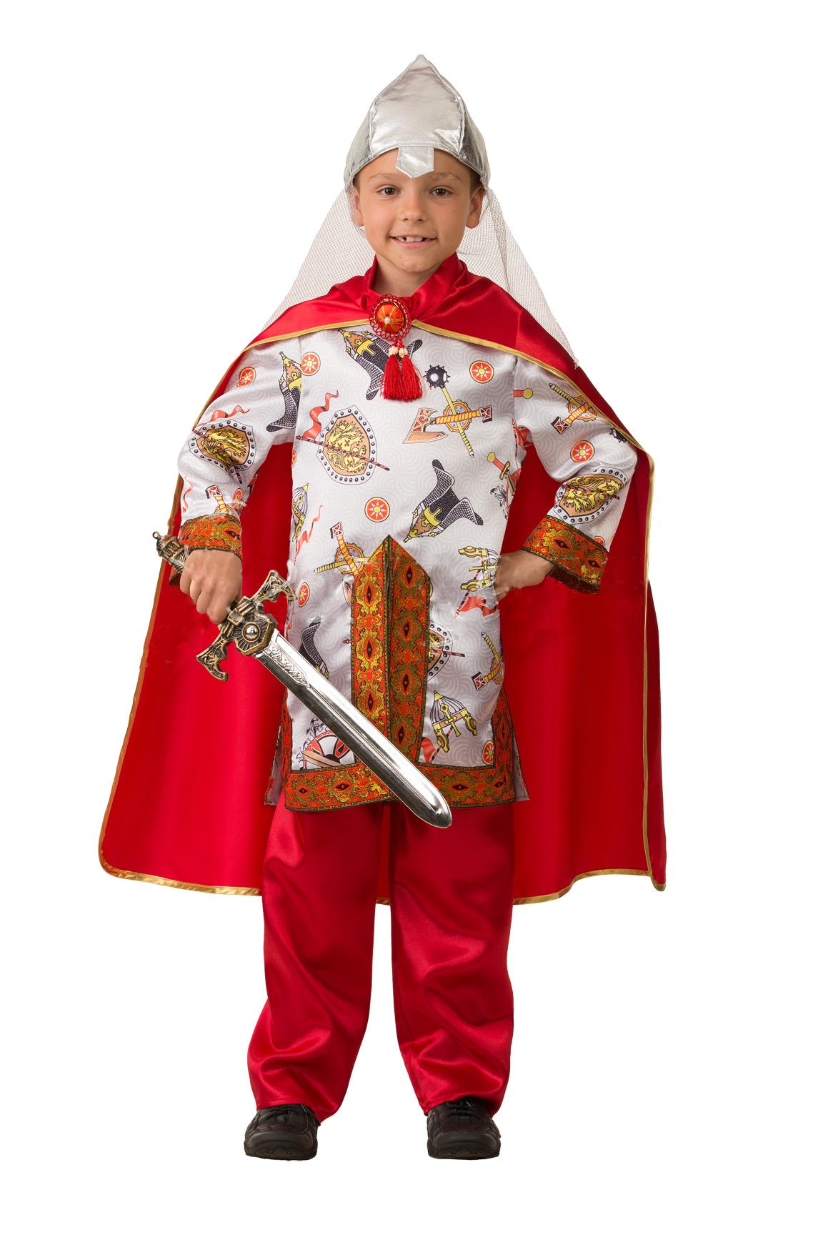 Маскарадный костюм Богатырь сказочный