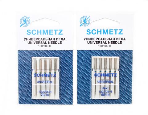 Универсальные иглы №70-100(5 шт)Schmetz