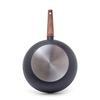 4247 FISSMAN Vesuvio Stone Сковорода ВОК 3,4 л / 28 см,