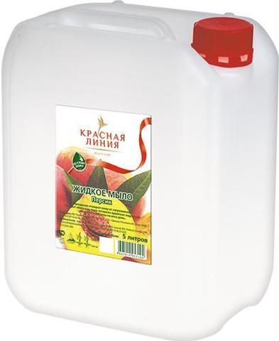 Мыло жидкое д/рук Красная линия 5л Персик