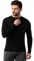 Кофта мужская Norveg Soft Woolmark, черный