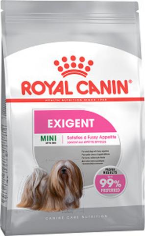 Royal Canin Mini Exigent сухой корм для собак мелких пород, привередливых в питании