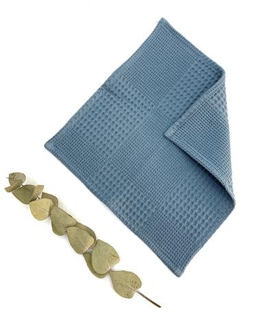 Вафельная салфетка-индиго(25х25см)