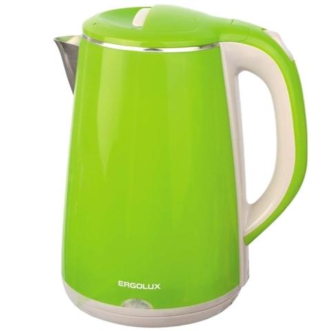 Чайник Ergolux ELX-KS06-C16 Светло-Зеленый