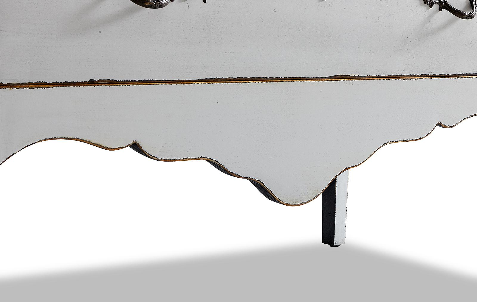 Комод горизонтальный FL-5002 белый