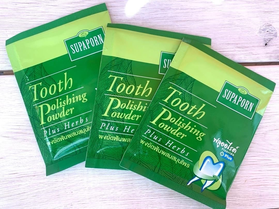 Купить выгодно Отбеливающий тайский порошок для зубов Supaporn