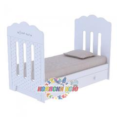 Кровать детская BONNE с маятником и ящиком