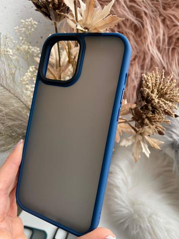 Чехол iPhone 12 Pro Max /6,7''/ Rock Guard Series matte /blue/