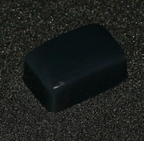 El Corazon Подушечки K-sp03ч сменные д/штампов чёрный силикон 1,6*2,7см (липкий)