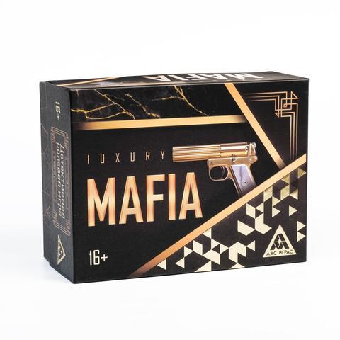 Ролевая игра «Luxury Мафия» с масками, 36 карт,
