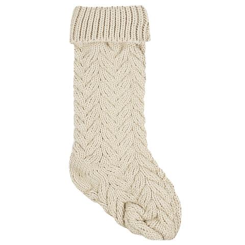 Носок для подарков Stocking grey