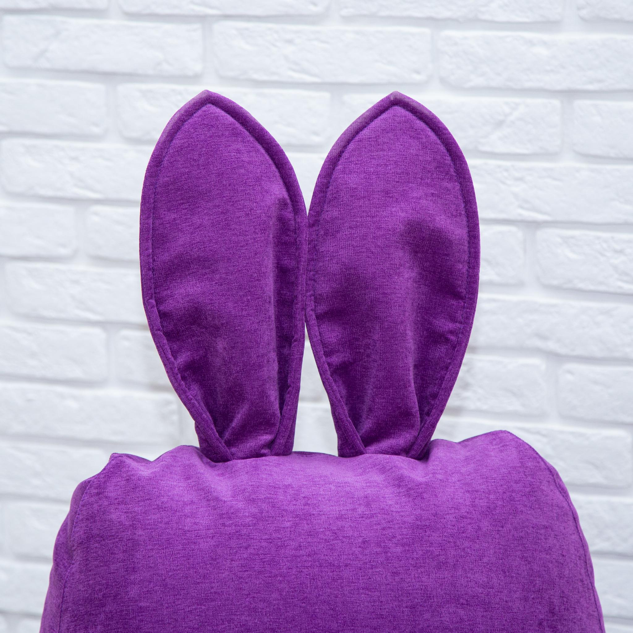 Кролик М микровельвет (фиолетовый)