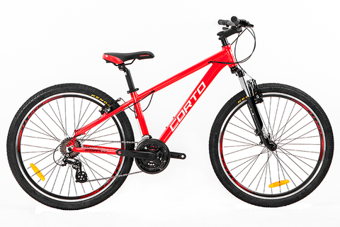 велосипед Corto SUV 2020 красный