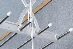 Потолочная сушилка на балкон Gochu Artex Bar Stain 1300