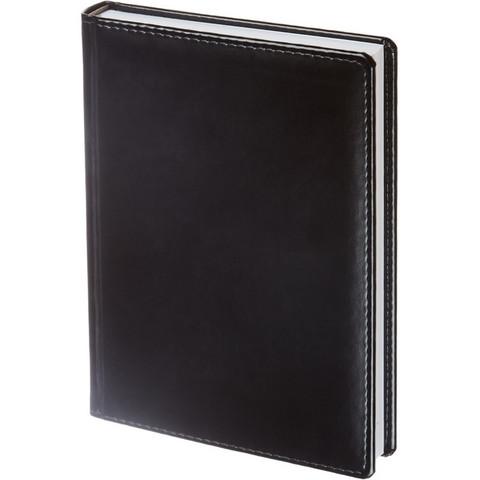 Ежедневник недатированный Attache Каньон искусственная кожа А5 176 листов черный (143x210 мм)