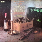 The London Symphony Orchestra, Ian Anderson ‎/ A Classic Case (Plays The Music Of Jethro Tull) (LP)