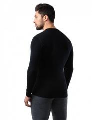 Кофта мужская Norveg Soft Woolmark, черный - 2