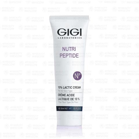 GIGI Nutri-Peptide 10% Lactic Cream