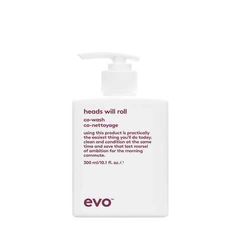 EVO Ко-вошинг для вьющихся и кудрявых волос [головокружительный] Heads Will Roll Co-Wash