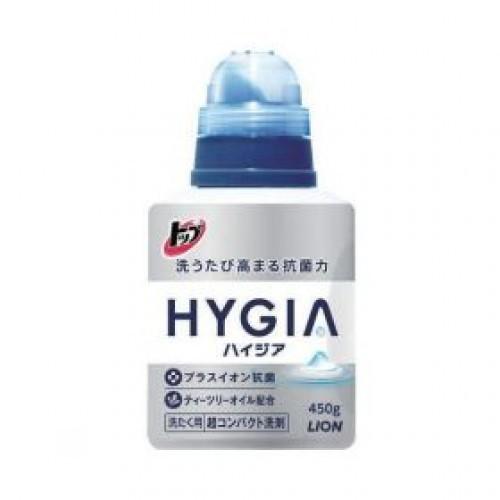 Жидкость для стирки белья, Lion, Top HYGIA, с отрицательными ионами, 450 гр