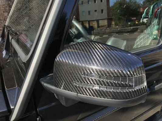 Накладки на зеркала  для Mercedes G-class