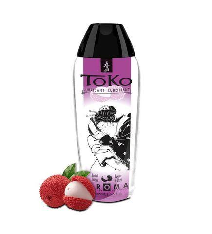 Интимный гель Shunga TOKO Lustful Litchee с ароматом личи - 165 мл.