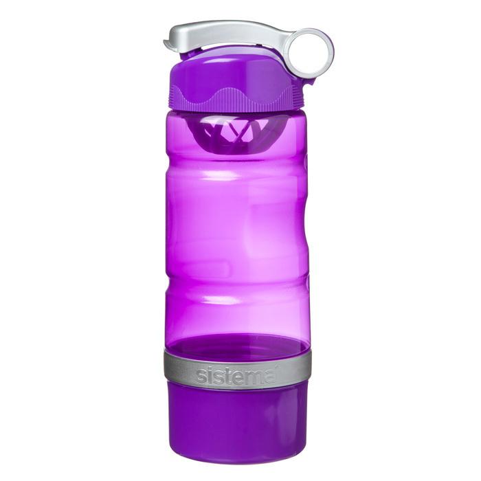 """Бутылка для воды Sistema """"Hydrate"""" 615 мл, цвет Фиолетовый"""