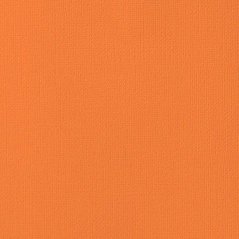 Текстурированный кардсток 30х30 American Crafts Textured Cardstock - Цвет Carrot
