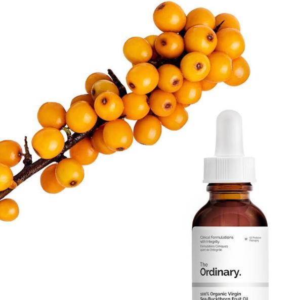 The Ordinary 100% Organic Virgin Sea-Buckthorn Fruit Oil  облепиховое масло 30мл