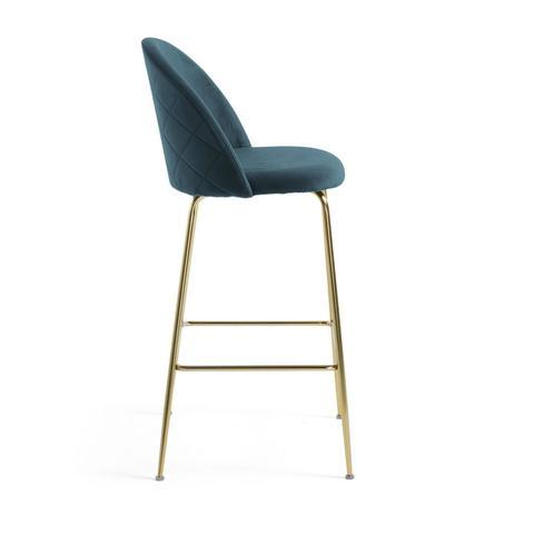 Барный стул Mystere бирюзовый