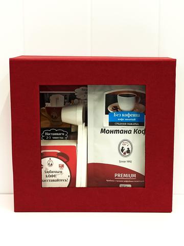 Экспресс набор «Монтана Кофе» Декаф (кофе молотый, фильтры), 150гр