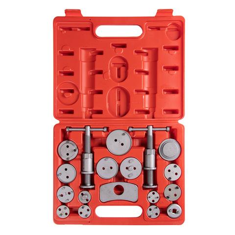 МАСТАК (102-00018C) Набор для утапливания поршней суппортов дисковых тормозов, 18 предметов