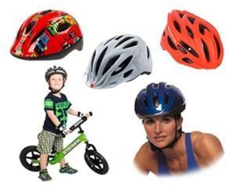 Купить шлемы для велосипедистов и роллеров