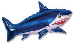 F Мини-фигура Акула (синий), 14