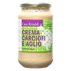 Крем-паста Casa Rinaldi из артишоков с чесноком в оливковом масле 500г