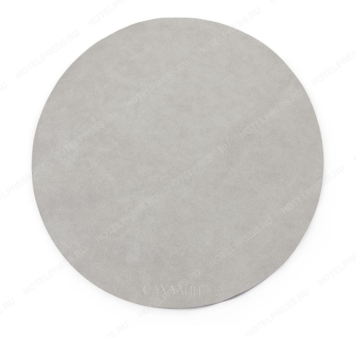 Плейсмат ( Placemat)  из Алькантара круглый ПМ-4