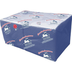 Салфетки бумажные Profi Pack 24x24 см синие 2-слойные 250 штук в упаковке