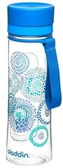 Бутылка для воды Aladdin Aveo 0.6L с синим узором