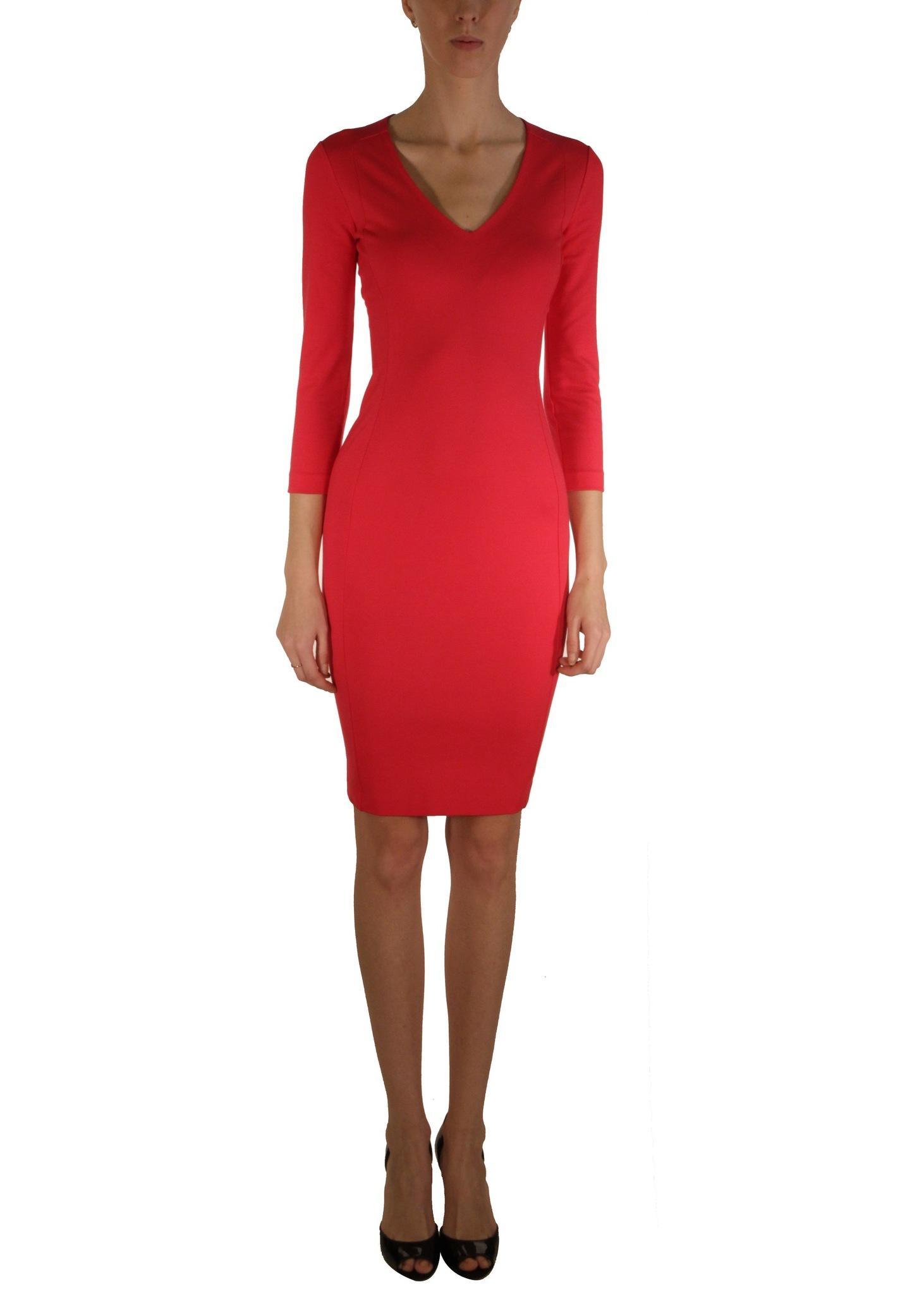 Платье из вискозы и нейлона DSQUARED2