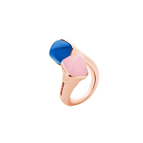 Кольцо Caleida Rose-Blue XAN162RR R/BL/RG