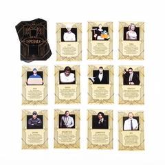 Ролевая игра «Luxury Мафия» с масками, 36 карт,, фото 6