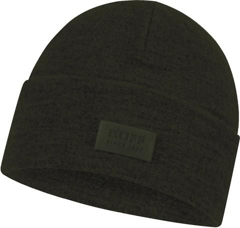 Шерстяная шапка с флисом Buff Hat Wool Fleece Khaki фото 1
