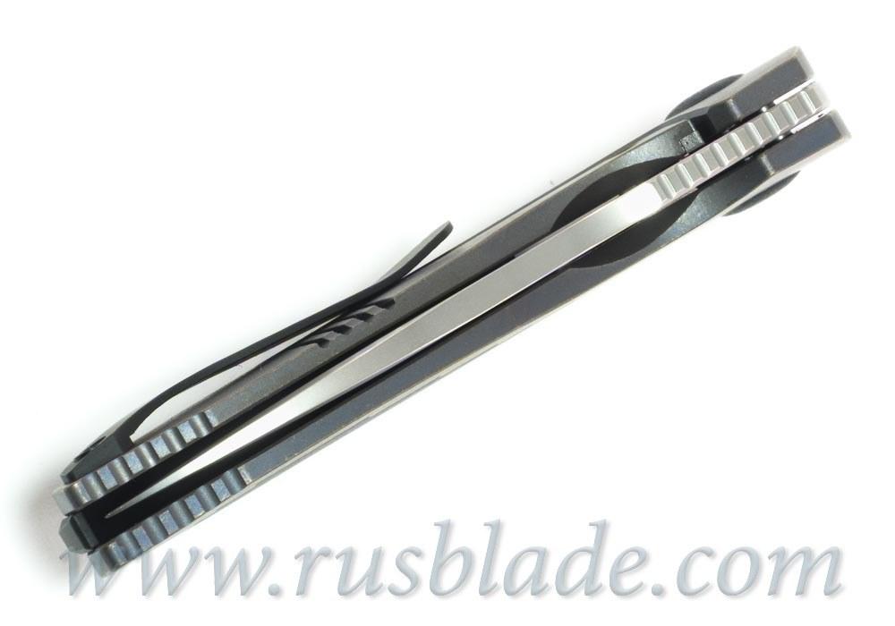 CKF Baugi knife (Malyshev design, M390, Ti) - фотография