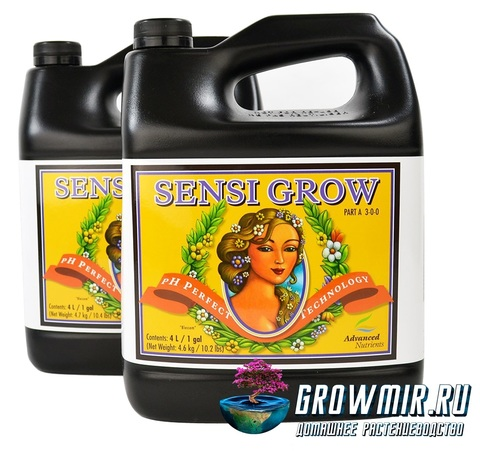 Advanced Nutrients pH Perfect Sensi Grow Parts A & B 5л (4л)