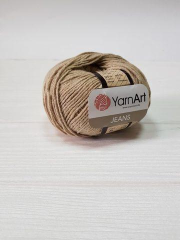 Пряжа YarnArt JEANS - (48-бежевый)