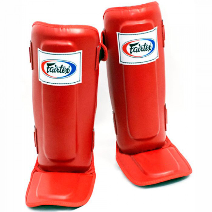Защита ног Щитки Fairtex Shin Pads SP3 Red 1.jpg