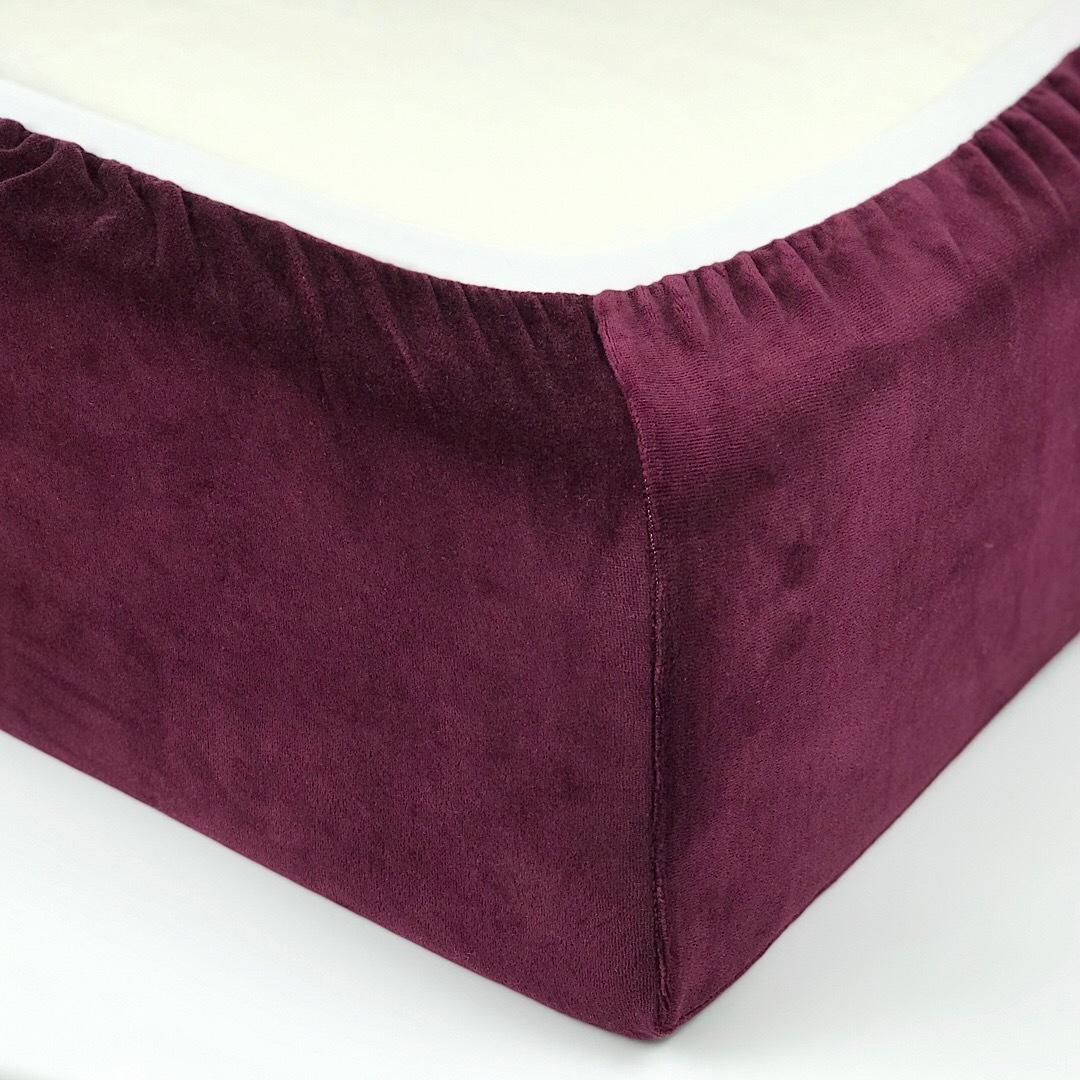 FELICITA - Детский велюровый наматрасник 60х120