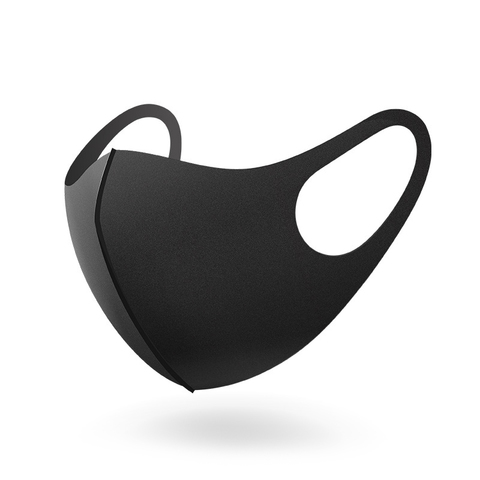 Многоразовая угольная маска, черная