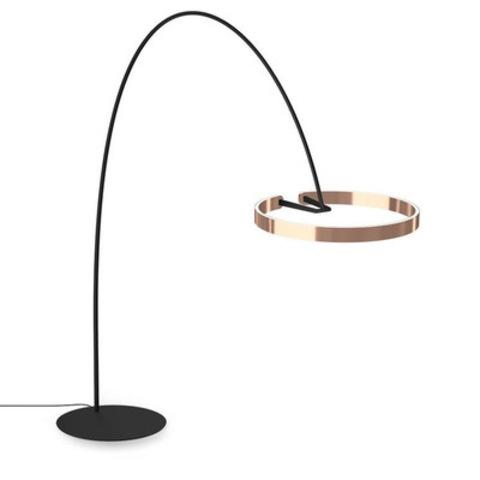 Напольный светильник копия Mito by Occio (розовое золото, H210)